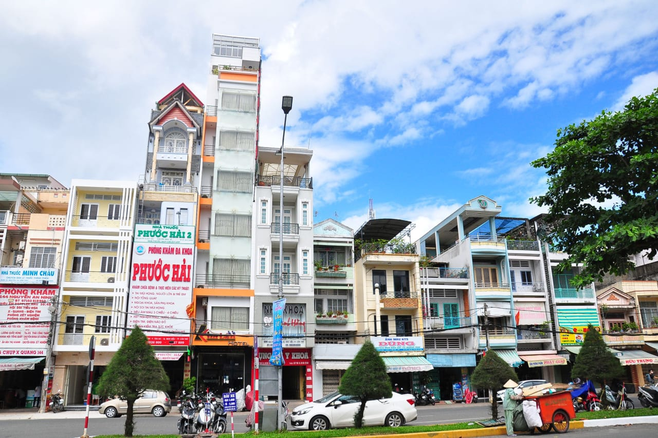 Can Tho Vietnam Shops Homes