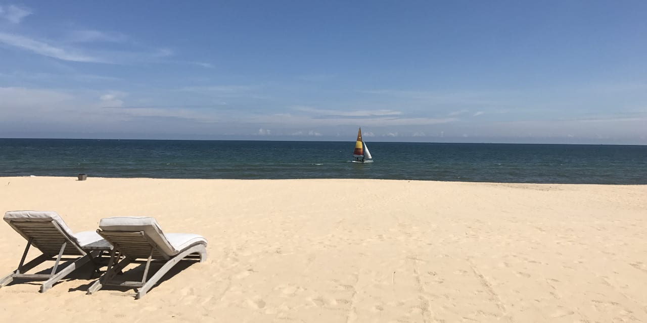 Mui Ne Mia Beach Ocean Sailboat