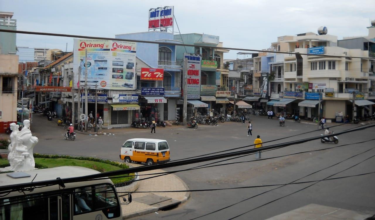 Street Phan Thiet Vietnam