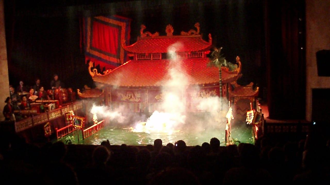 Thang Long Water Puppet Theatre Hanoi Vietnam